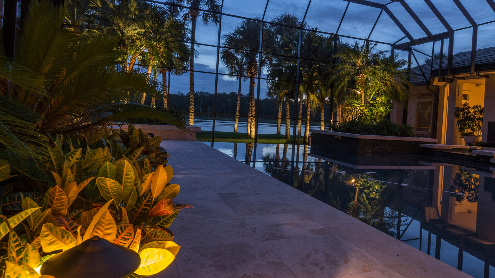Professional Grade Landscape Lighting : Portfolio johnson landscape lighting