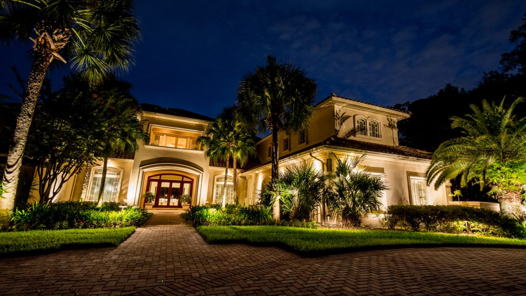 Custom Landscape Lighting System Designed Specifically for Your Jacksonville Home